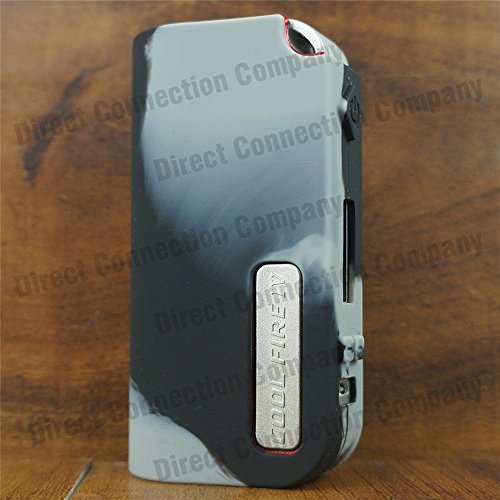 Silicone Case for Cool FIRE IV 40W MODSHIELD BYJOJO Skin INNOKIN Cool Fire 4 Sleeve Cover Wrap (Grey/Black)