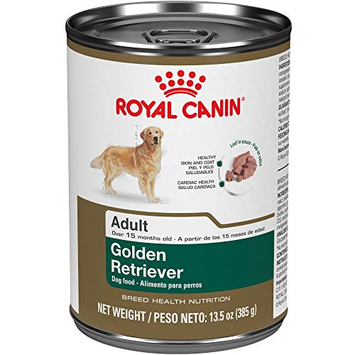 Royal Canin Breed Health Nutrition Golden Retriever Loaf In Sauce Dog Food, 13.5 Oz