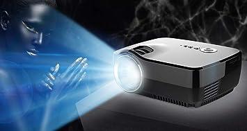 prev ently vídeo proyector, Full HD Mini proyector 7000 lúmenes ...