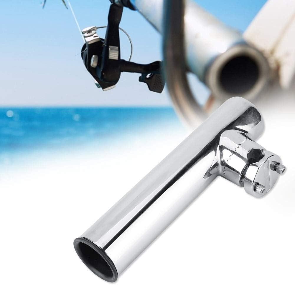 Fishing Rod Holder Stainless Steel Marine Boat Fishing Rod Holder Rack Support for Rail 32-51mm