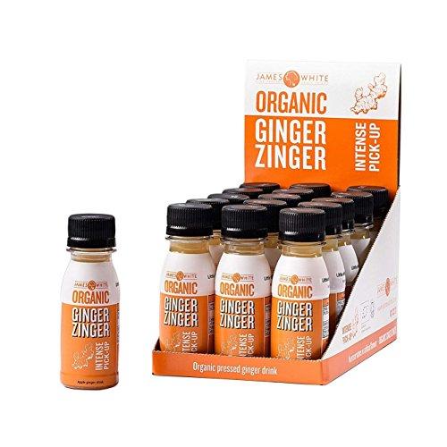 Zinger - Natural Shots 2.4 Oz (15 count) (Org Ginger & Apple)