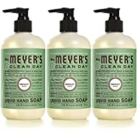 3-Pack Mrs Meyers Parsley Liquid Hand Soap,12.5 fl oz
