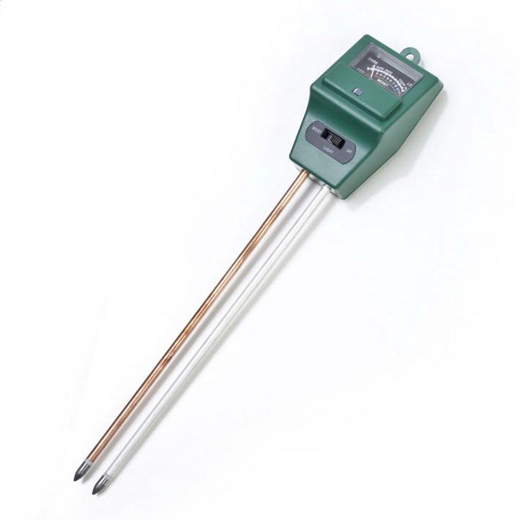 3-in-1 Soil Test Kit for Moisture, Light & PH, Kioneer Soil Meter Made for Garden, Farm, Lawn, Indoor & Outdoor (No Battery Needed)