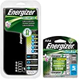 Energizer Universal Charger AA 8 Battery Value Pack