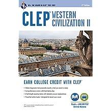 CLEP® Western Civilization II Book + Online