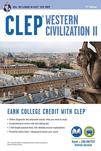 CLEP® Western Civilization II Book + Online (CLEP Test Preparation)