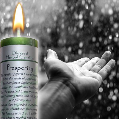 Coventry Creations Prosperity Blessed Herbal (Prosperity Candle)