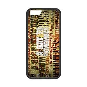 iPhone 6 6S Plus 5.5 Inch funda Negro [PC dura del caso + HD Pattern] un día para la Serie Remember® [Numeración: JJJJDHKOD1788]