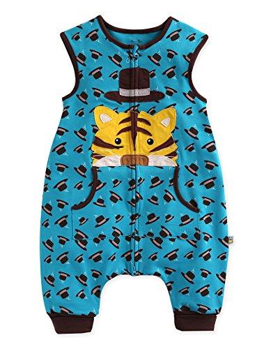 Vaenait baby 1-7Y Kid Boys Wearable Blanket Sleeper Secret Tiger Sleep S (Tiger Sleeper)