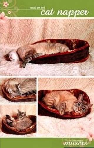 Cat Bed Sewing Pattern - 9