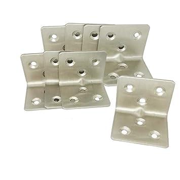 Chiloskit 20PCS tassello armadietto mobili da cucina in acciaio INOX ...