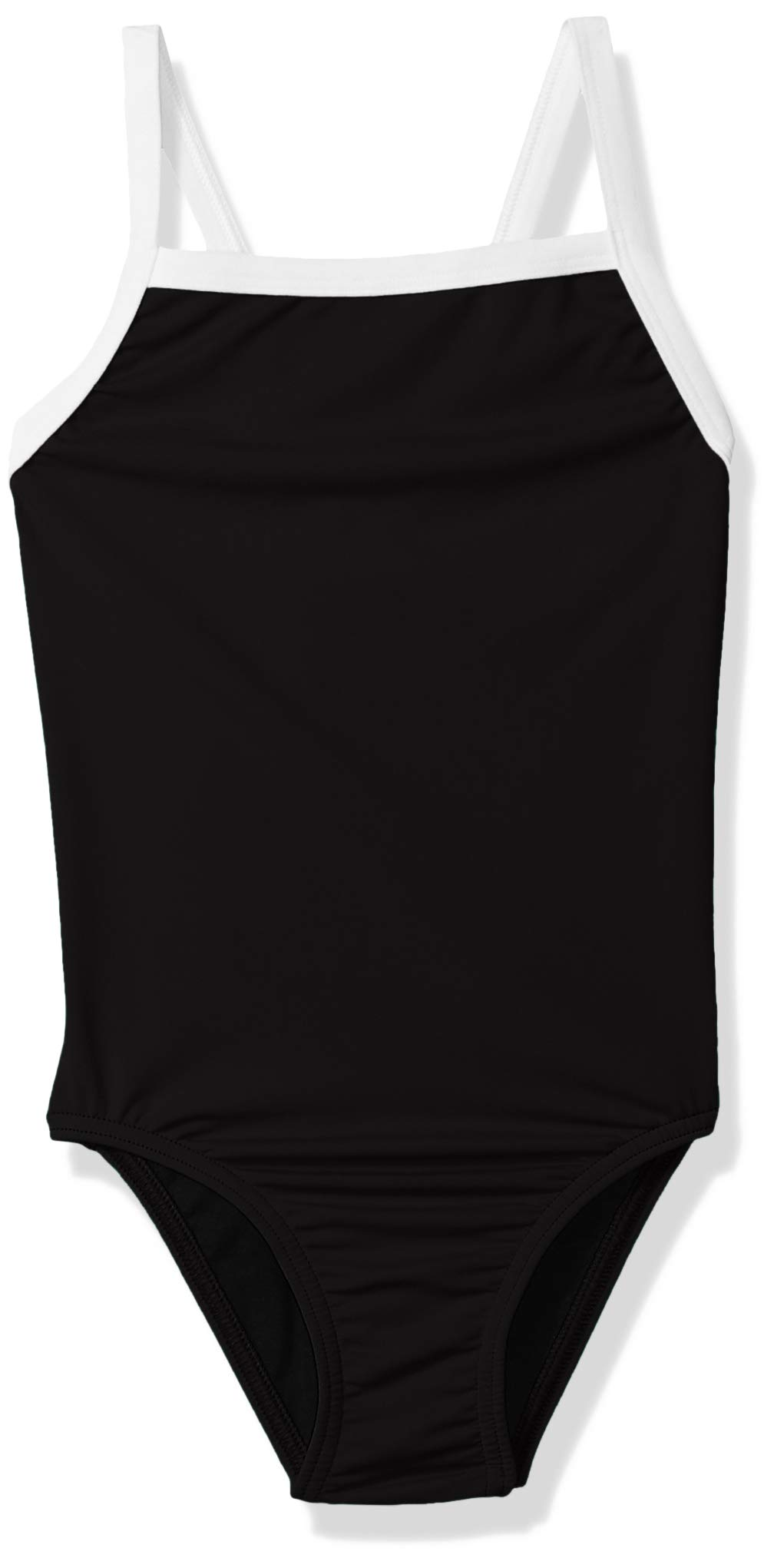 Speedo Girls' One Piece Swimsuit - Solid Flyback Training Suit