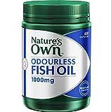 omega 3 australia - Nature's Own Odourless Fish Oil 1000mg 400 Capsules ORIGIN OF AUSTRALIA