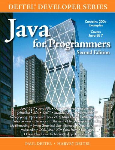 Java for Programmers (Deitel Developer)