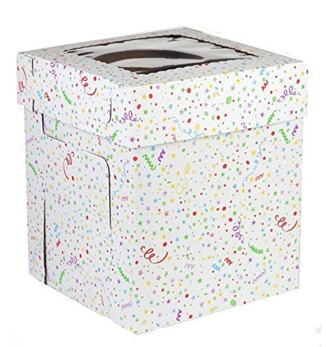 CakeSupplyShop 18inch X 18inch X 12inch Tall Cake Carry Transport Box - 1ct