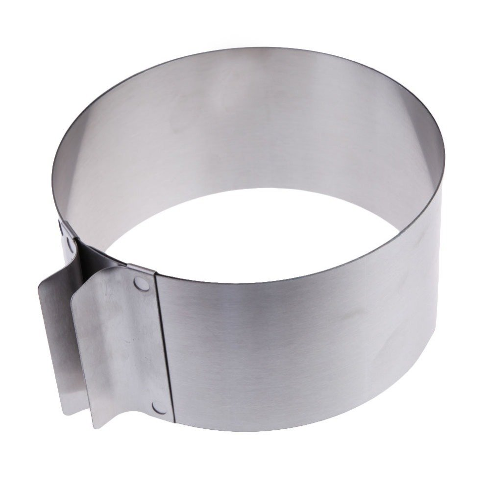 Stainless Steel Round Circle Cookie Fondant Cake Mold Cutter Pastry Tool Word