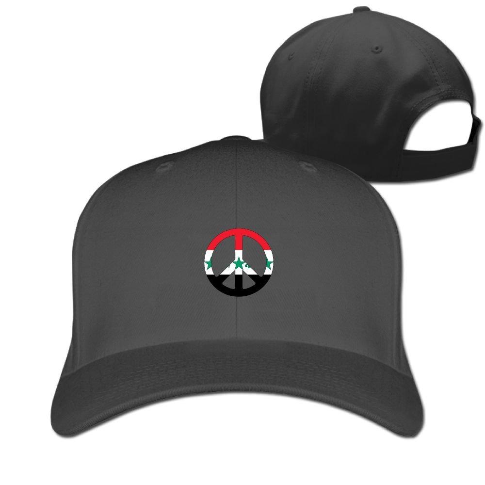 Iraq Flag Peace Unisex Sandwich Snapback Cap Solid Color Hats