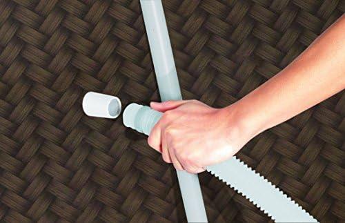 Bestway Frame Piscina Steel Pro Set, 427 x 122 cm en imitación de ...