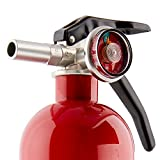 First Alert Rechargable Standard Home Fire Extinguisher, Red