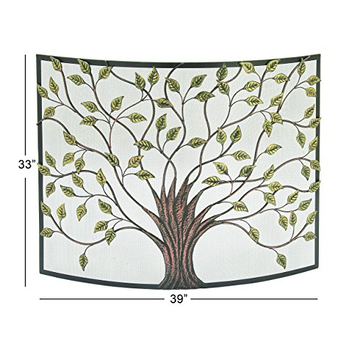 Buy metal fireplace screen