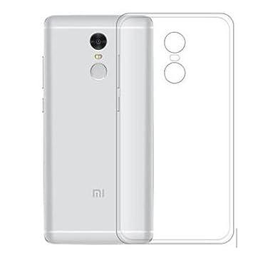 Xiaomi Redmi Note 4X Silicona Funda Trasera Carcasa Cubierta de Excelente Absorción de Golpes, TPU Case de Alta Resistencia y Flexibilidad