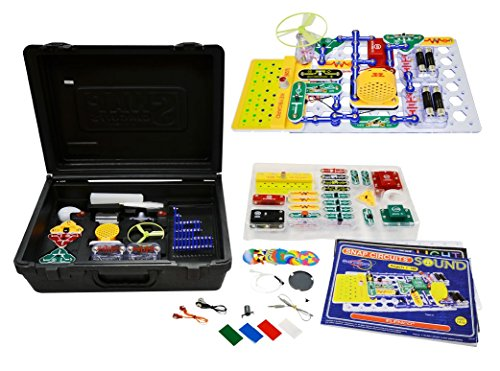 (Elenco Electronics Snap Circuits R Deluxe Sound & Light Combo)