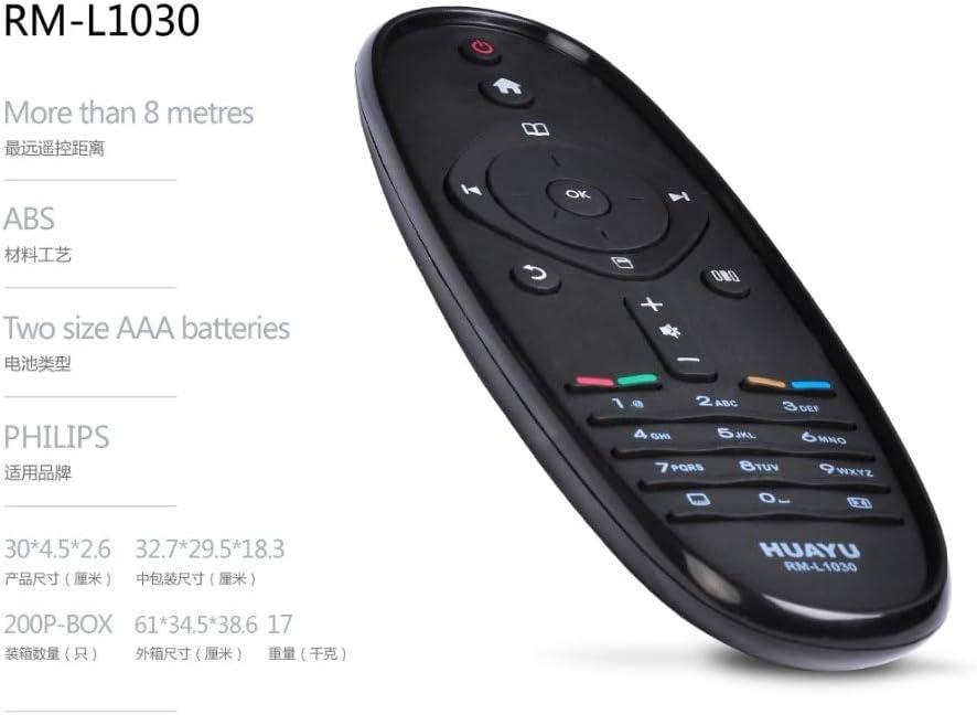 Huayu rm-l1030 mando a distancia para Philips TV: Amazon.es ...