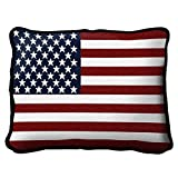 American Flag Pillow - 13 x 17 Pillow
