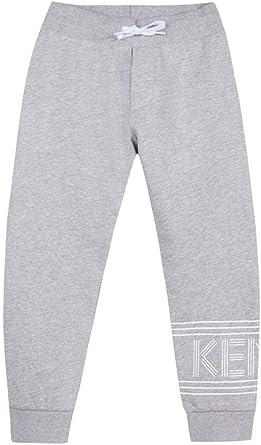 Kenzo Grey Logo Tracksuit Pant