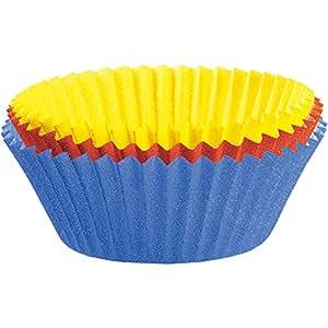 Kaiser 646299 Muffin World - Moldes de Papel de Colores para 80 Maximuffins, 8,5 cm