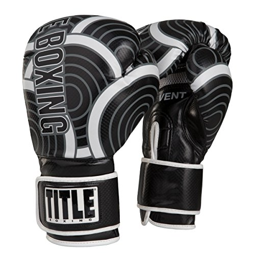 TITLE Infused Foam Engage Boxing Gloves (Grey, (Title Boxing Foam Boxing Gloves)