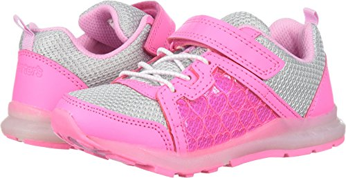 carter's Girls' Purity Light Sneaker, Pink, 5 M US Toddler