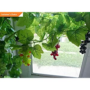 Hebel 90 The Big Vine with 3 Bunch Grapes Artificial Plastic Fruits Plants(4 Colors) | Model ARTFCL - 577 | 68