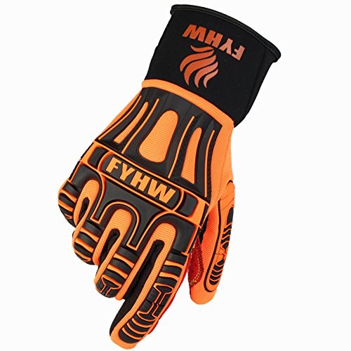 BKPH Verschleißfest Arbeitsversicherung Handschuhe Im Freien Übung Bergsteigen All-Finger Rutschfest Handschuhe