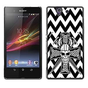 Dragon Case - FOR Sony Xperia Z L36H - ?Feel the moment of dancing - Caja protectora de pl??stico duro de la cubierta Dise?¡Ào Slim Fit