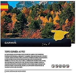 Garmin - Topo Spain v6 Pro MicroSD/SD, Color 0: Amazon.es: Deportes y aire libre
