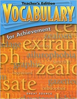 Amazon vocabulary for achievement teachers edition grade 7 amazon vocabulary for achievement teachers edition grade 7 first course 2006 9780669517620 margaret ann richek books fandeluxe Choice Image