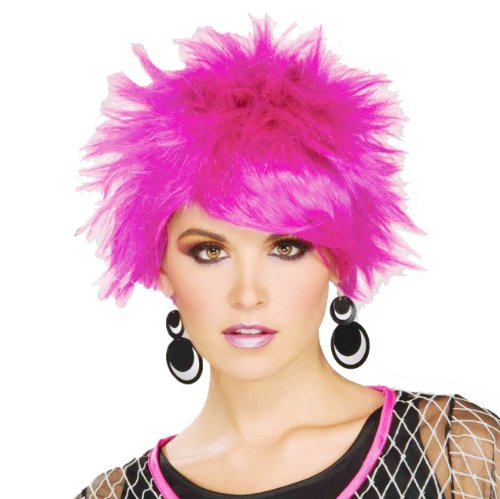 Forum 80's Pop Pixie Wig, Purple, One (Pixie Wigs Halloween)