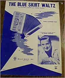 the blue skirt waltz for piano accordion mitchell