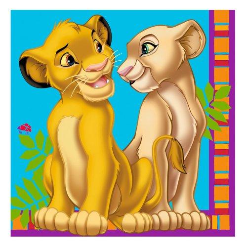 [Lion King Large Napkins (16ct)] (Disney Nala Costume)