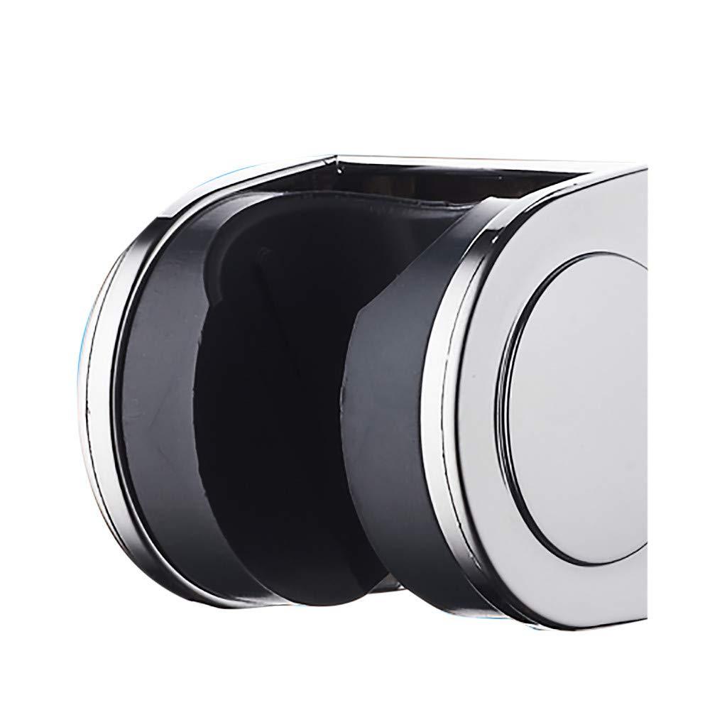 Mr.Macy Shower Head Handset Holder Chrome Bathroom Wall Mount Adjustable Bracket by Mr.Macy (Image #2)