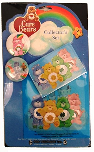 Care Bears Collector Set- Buttons, Magnet and Sticker