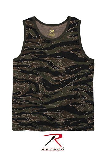 Rothco Tank Top, Tiger Stripe, Large ()