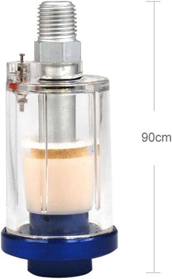 Shangsi 1//4 Mini Luftfilter Wasserfilter f/ür Spritzpistolen Druckluft Werkzeuge Kompressor