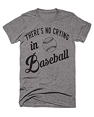 There's No Crying In Baseball Funny Women's Moms Tshirt