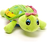 Buckle Toy - Belle Turtle - Learning Activity Toy - Develop Motor Skills and Problem Solving - Counting and Color…