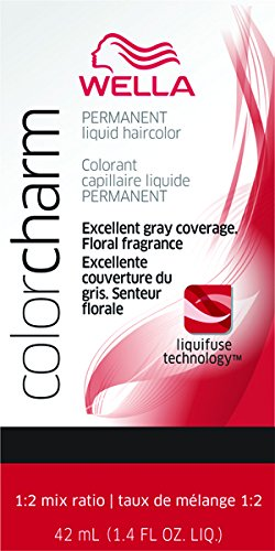 Wella Charm Liquid Permanent Hair Color, 8rg/729 Titian Red Blonde