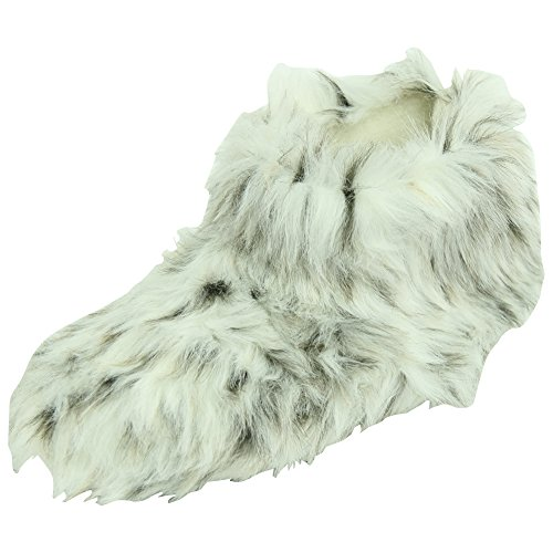 Boots Fleece Winter Fashion House Slippers Warm Soft Indoor Forfoot Leopard Women's White 6HqEwUx8HZ