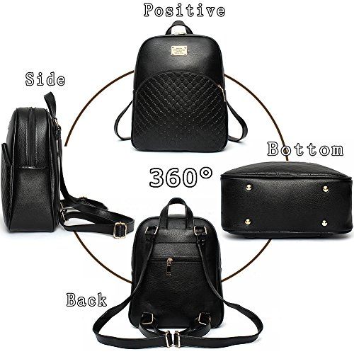 G-AVERIL GA1092-L - Bolso mochila  para mujer verde verde Black1