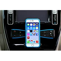 MagBak for iPhone 7 - Minimalist protective case and mounting solution for iPhone 7. Protect your phone, mount it anywhere. (Blue)